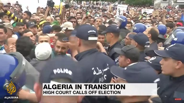 Presidentsverkiezingen Algerije uitgesteld