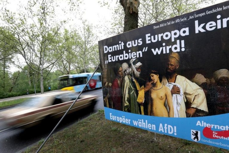Rechtsradicale AfD koerst af op winst bij verkiezingen Brandenburg, Duitsland