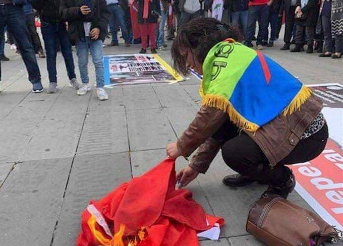Marokko woedend om 'criminele' vlagverbranding in Parijs