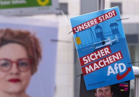 Duitsland: minder steun voor AfD sinds extreemrechtse aanslag in Halle
