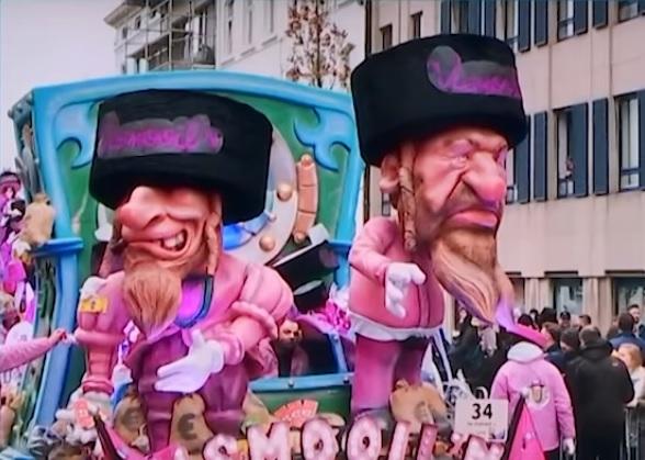 Ophef in België: carnavalisten in Aalst lachen om 'onvervalst antisemitische' cartoons