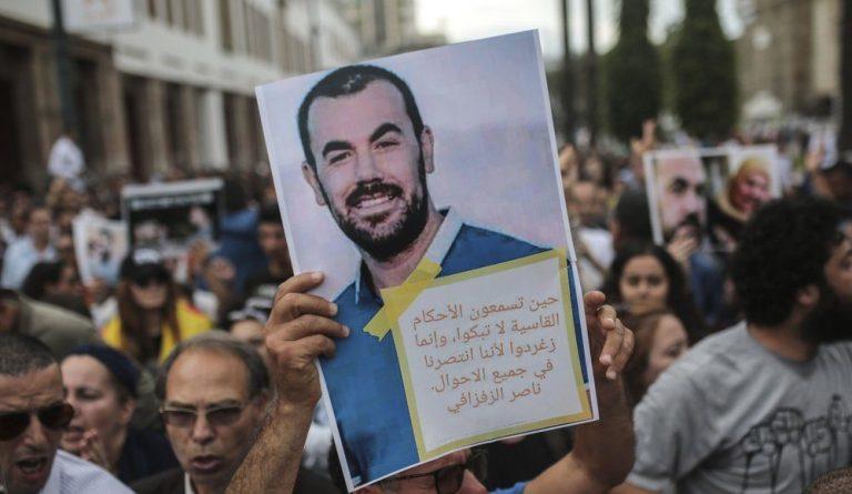 Opgepakte Rif-leider 'gemarteld en seksueel misbruikt'