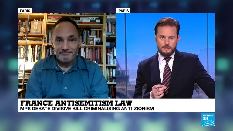 Frankrijk stelt antizionisme strafbaar, maar Joodse intellectuelen protesteren