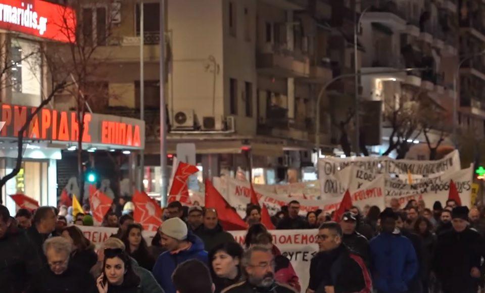 Duizenden Grieken betuigen steun aan migranten: 'Open de grenzen!'